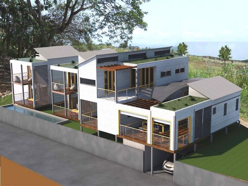 Maisons container a mn architecture guadeloupe - Container amenage maison ...
